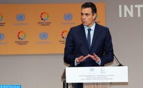 """Pedro Sánchez: Marruecos sufre una """"presión migratoria"""" de África subsahariana"""