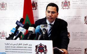 """M. Khalfi : Le gouvernement """"n'a pas fermé"""" les portes du dialogue avec les syndicats et s'est engagé """"en toute responsabilité"""" dans la réforme des retraites"""