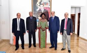 Los últimos desarrollos de la cuestión del Sáhara marroquí en el centro de una reunión entre Ould Errachid y la presidenta del parlamento ugandés