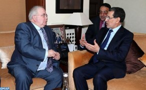 The Official Visit of Speaker of Irish House of Commons to Morocco