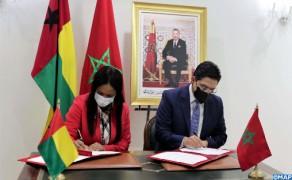 Firmados cuatro acuerdos de cooperación entre Marruecos y Guinea Bissau
