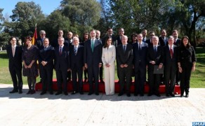 HM King Felipe VI and Queen Letizia Receive Moroccan Authors Using Spanish Language