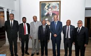 El Presidente del Corcas se entrevista en Rabat con el Presidente del Senado malgache