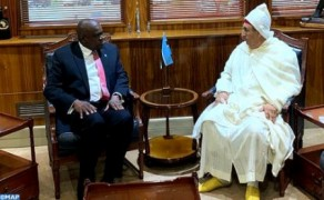 Morocco's Ambassador to Botswana Hands Credentials to President Mokgweetsi Masisi
