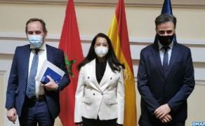 La gestión migratoria en el centro de una reunión entre Benyaich y el secretario de Estado español d