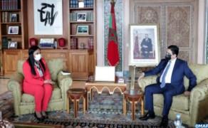 Bourita y su homóloga bisauguineana examinan los medios de consolidar la cooperación bilateral