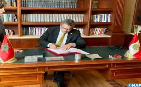 Marruecos-Perú: El presidente del Parlamento peruano elogia la calidad de las relaciones